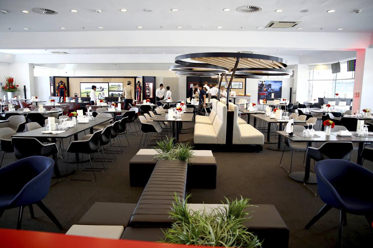 Australia aston martin red bull racing paddock club  suite