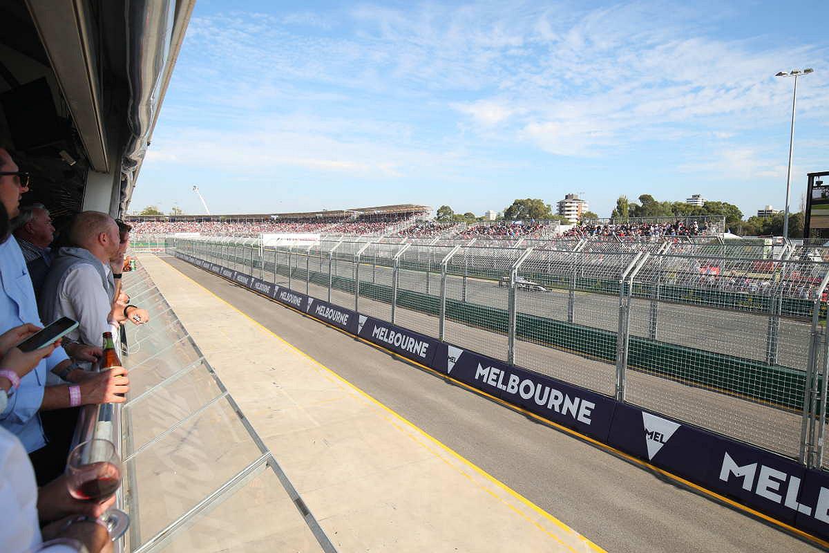 Australia pit entry supercars club view