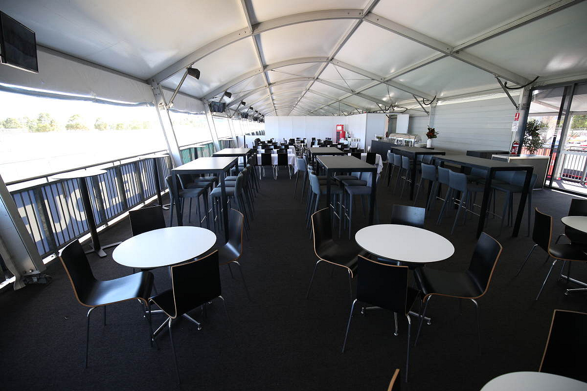 Australia pit entry victory suite suite seating