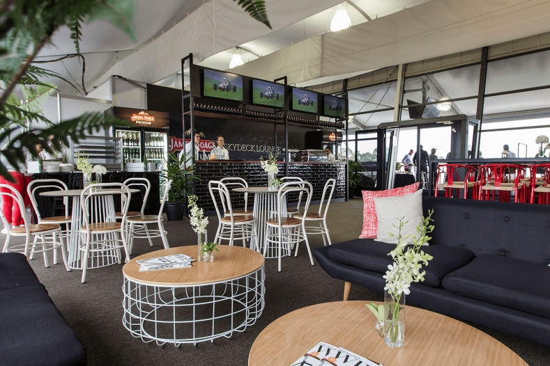 Australia pit exit skydeck lounge lounge