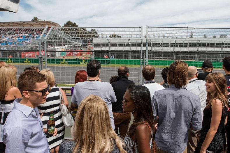 Australia track view