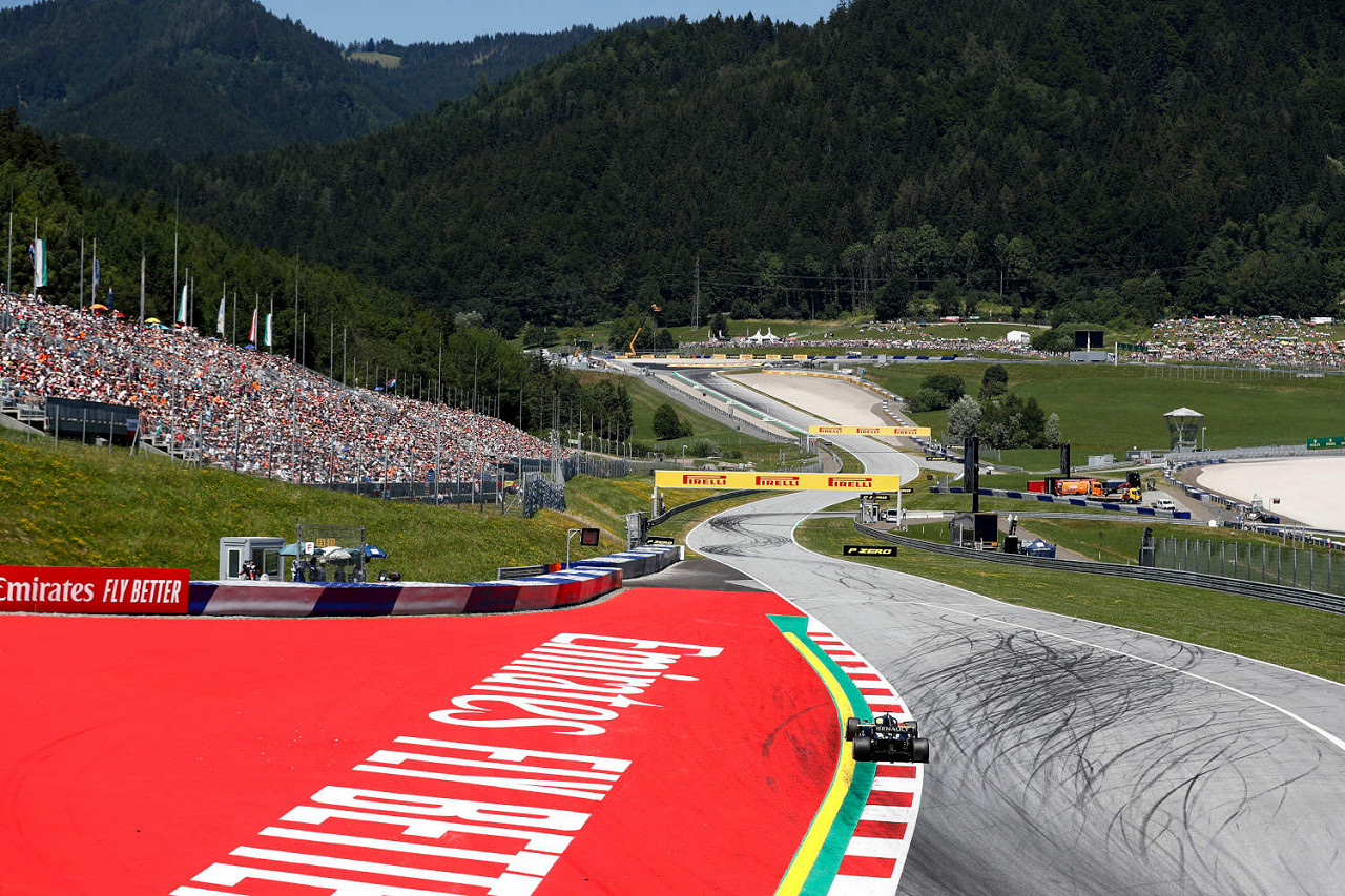 Red Bull Ring, the Austrian F1 race track