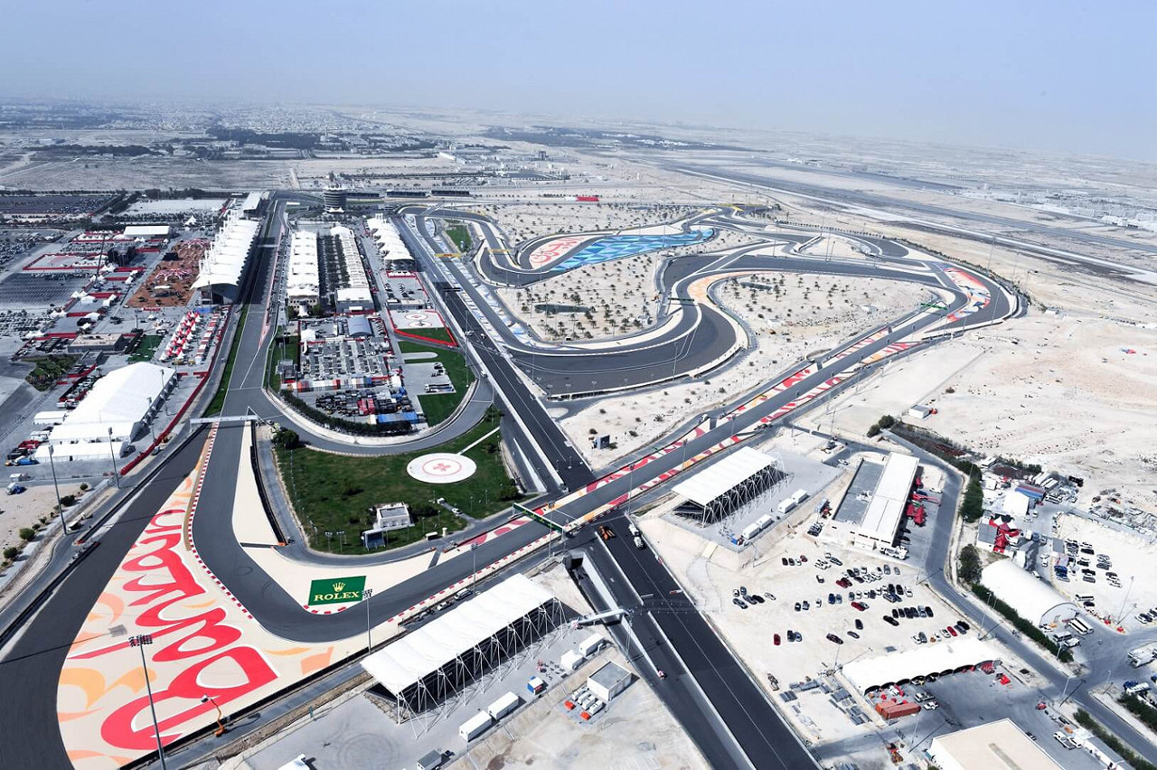 Bahrain International Circuit, the Bahrain F1 race track