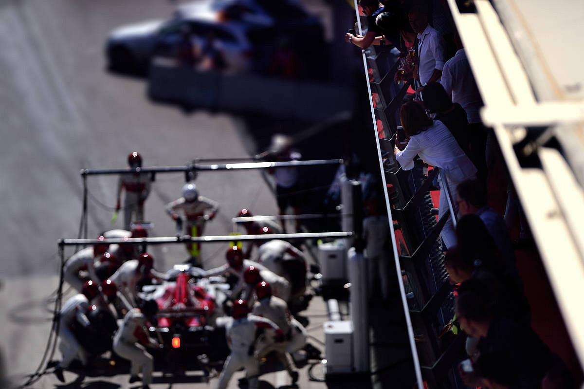 Brazil pit view