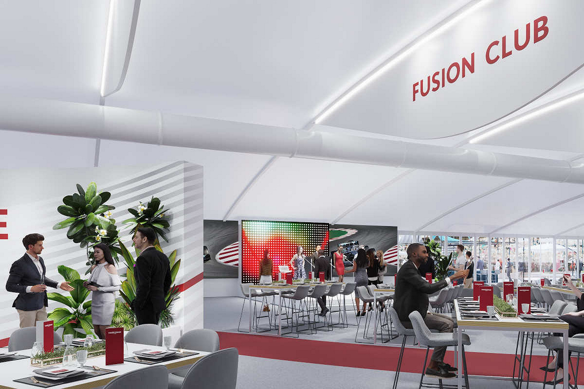 Britain fusion lounge hospitality silverstone