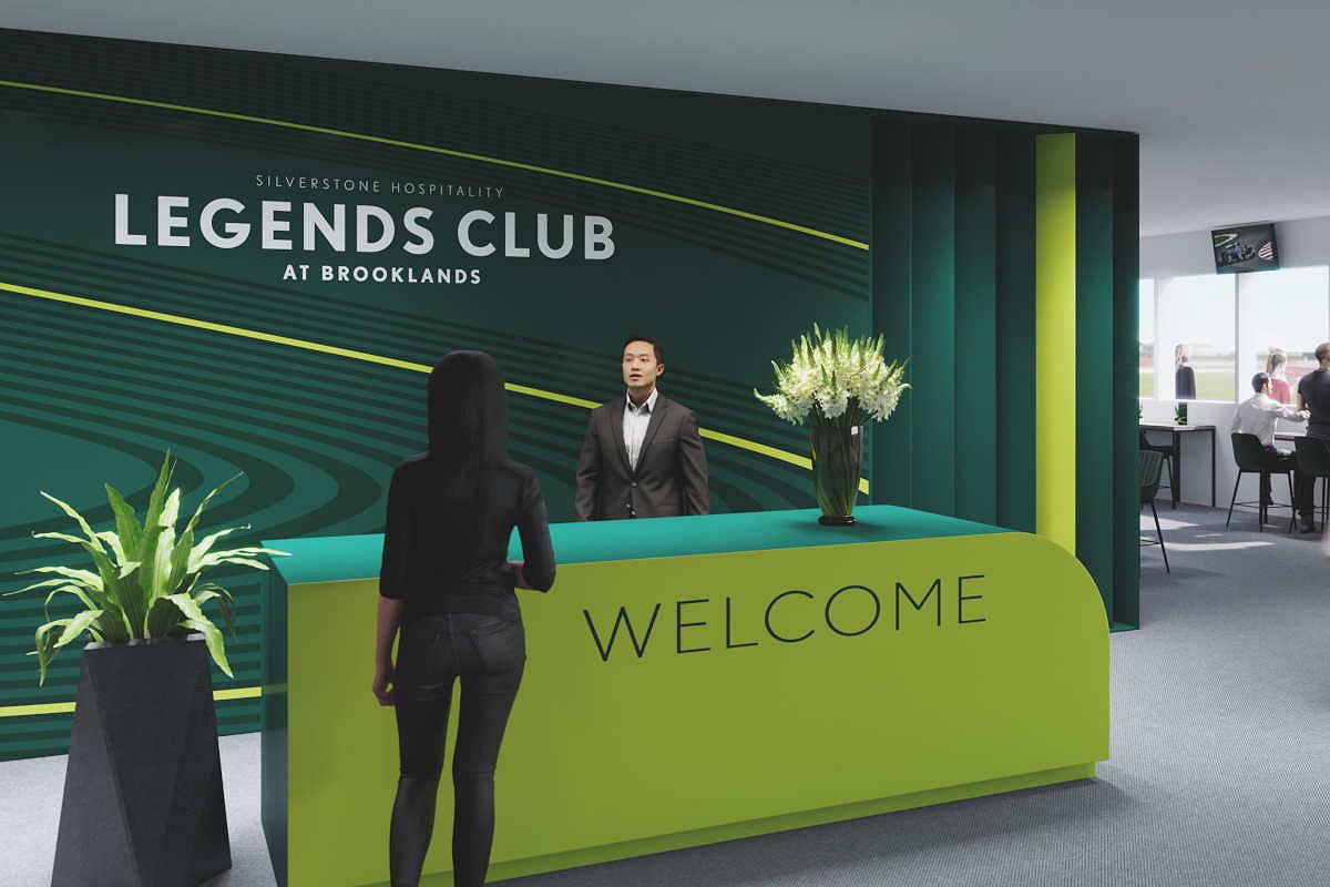 Britain legends club hospitality legends club entrance