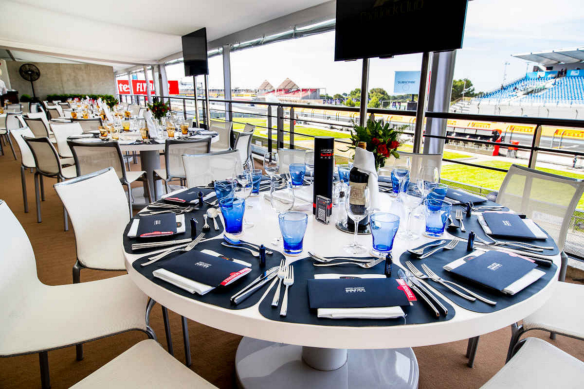 Britain red bull racing paddock club  paddock club club suite