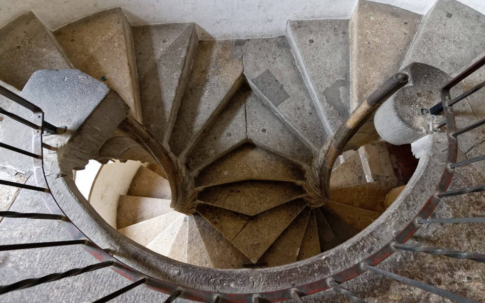 Burg and Double Spiral Staircase