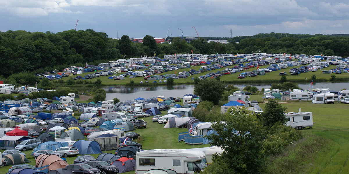 Campsite overview