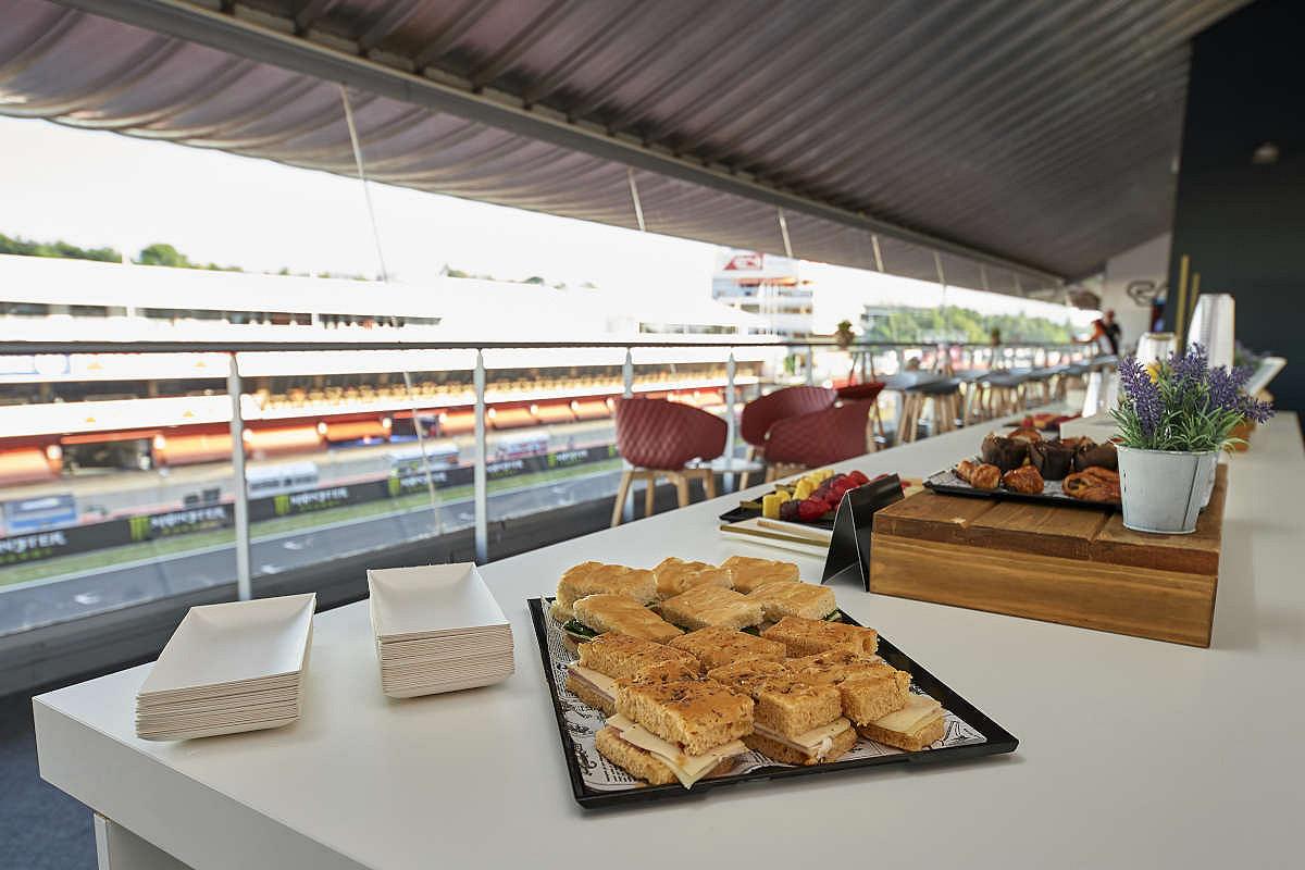 Catalunya pedralbes club catering