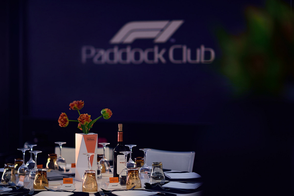 Dutch formula one paddock club  suite