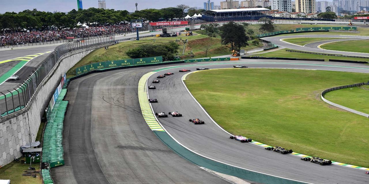 Interlagos Circuit, the Brazilian F1 race track
