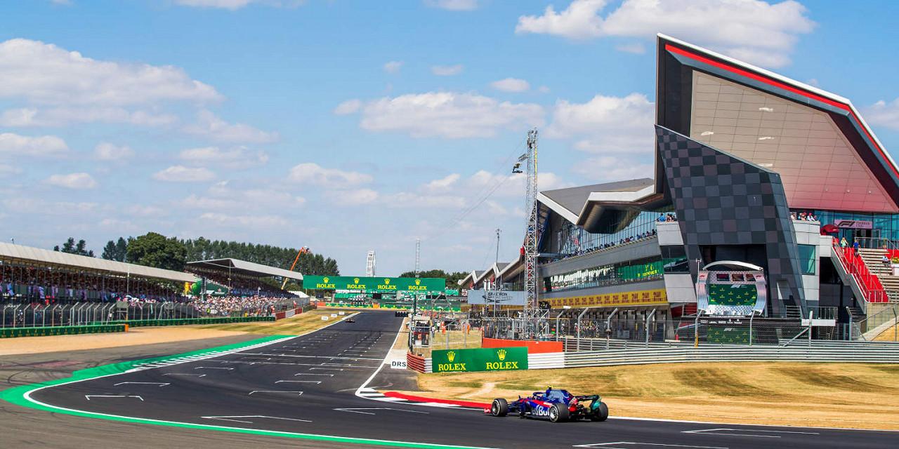 Gran Premio di Gran Bretagna di Formula 1 2020 Circuito