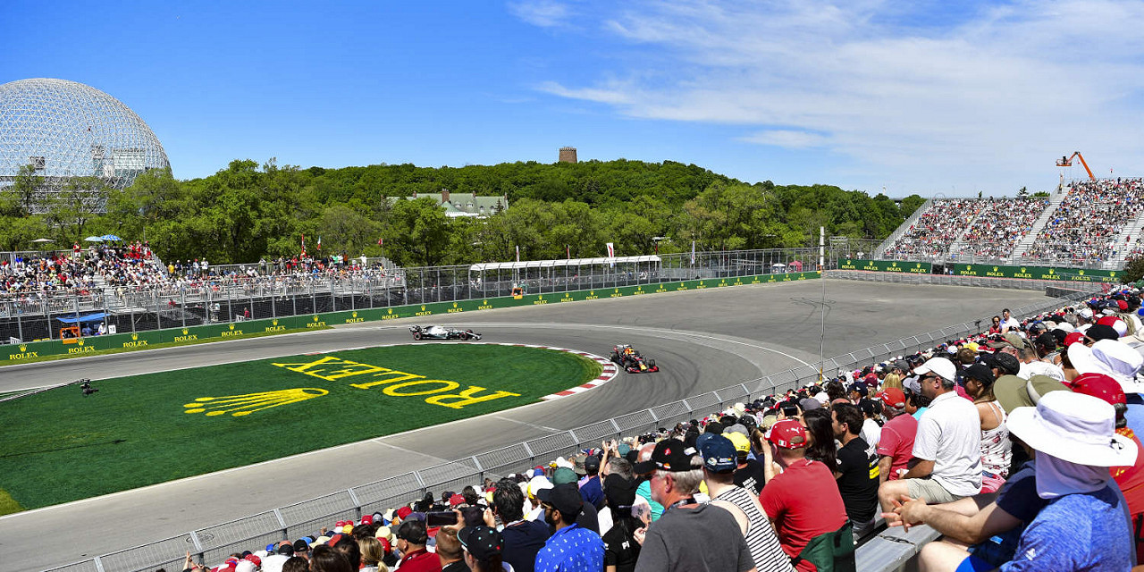 Circuit Gilles Villeneuve, the Canadian F1 race track