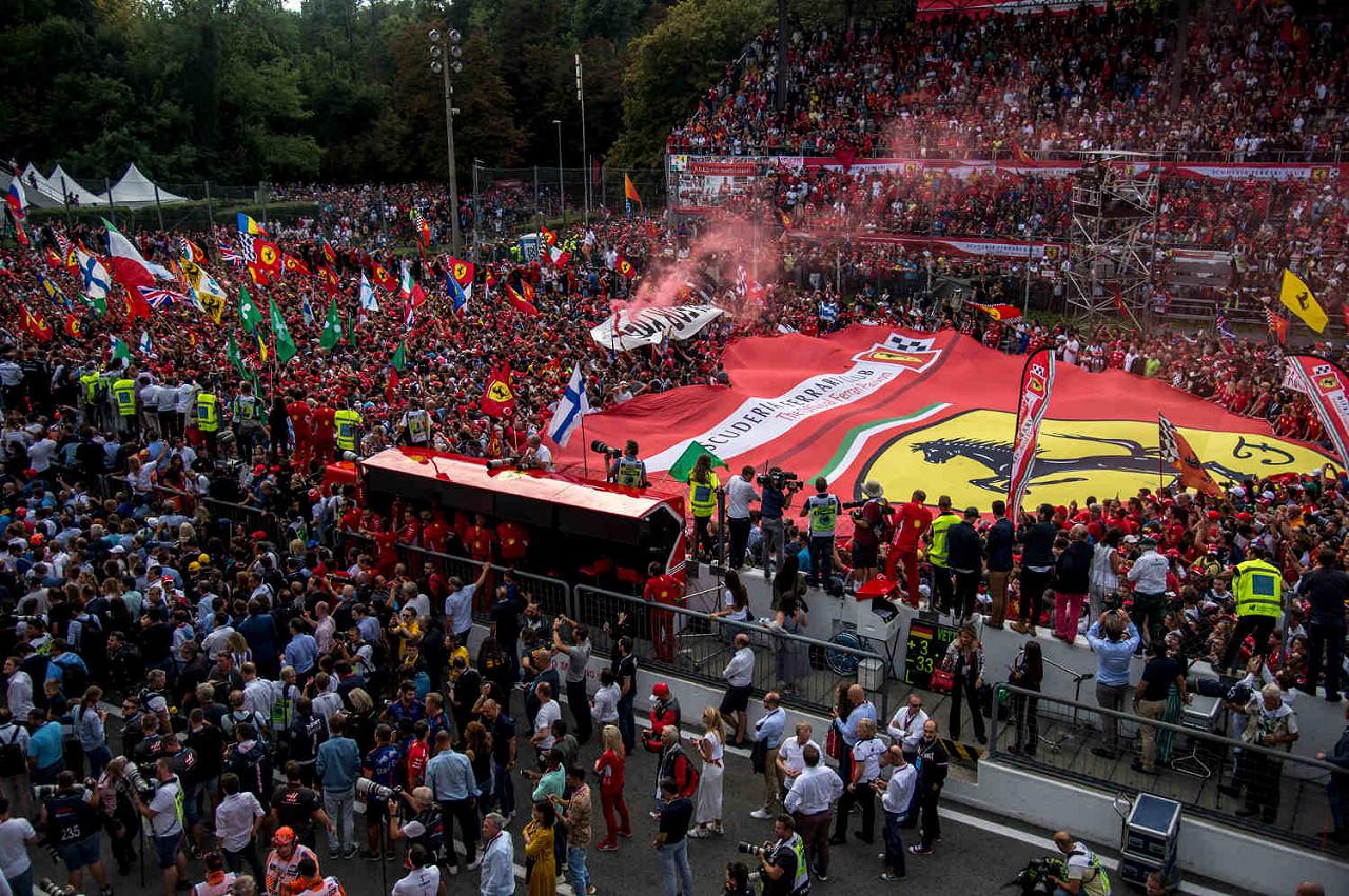 Autodromo Nazionale Di Monza, het F1-circuit van Italië