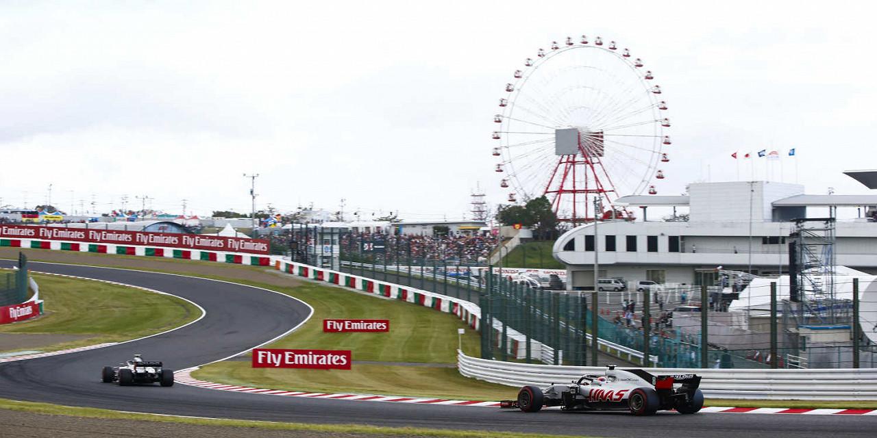 Gran Premio del Giappone di Formula 1 2020 Circuito