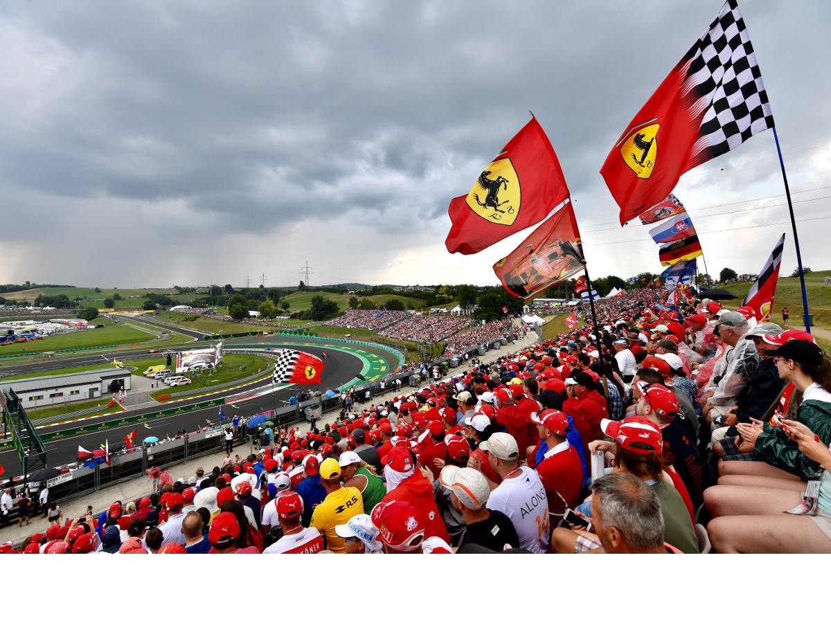 Hungarian Formula 1 Grand Prix 2019 ENTRY TICKETS - General Admission, Grandstand, and Hospitality