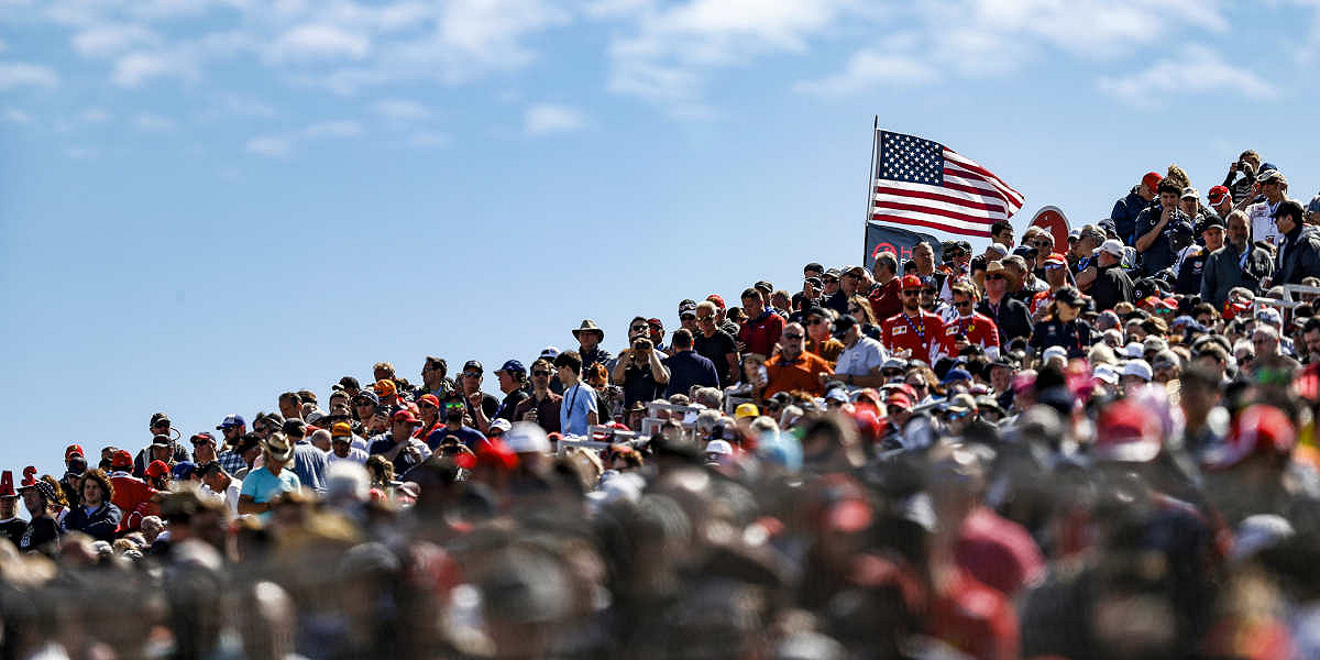 2019 Formula 1 Pirelli United States Grand Prix 2019 ENTRY TICKETS - General Admission, Grandstand, and Hospitality