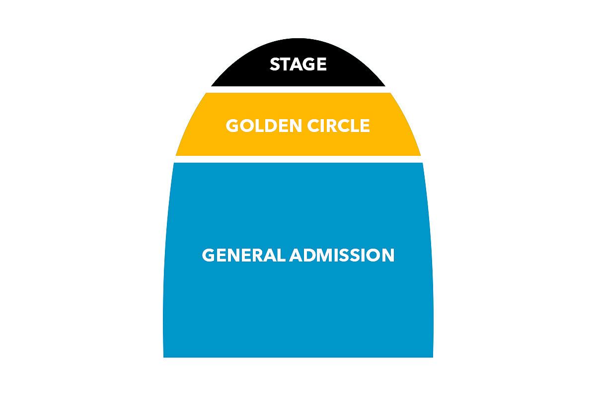 Biglietto Aggiuntivo Golden Circle