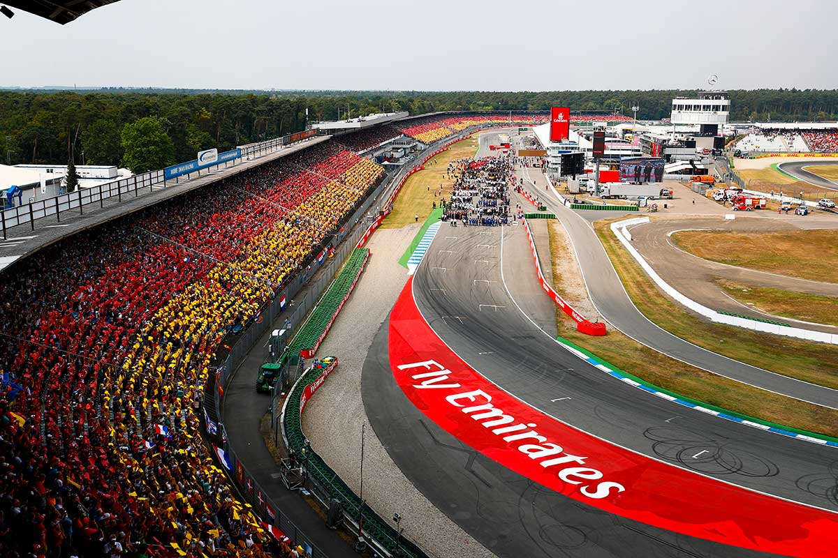 Die Geschichte des Deutschen Grand Prix