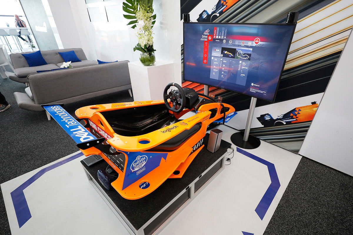 Hungary mclaren f1 experience simulator
