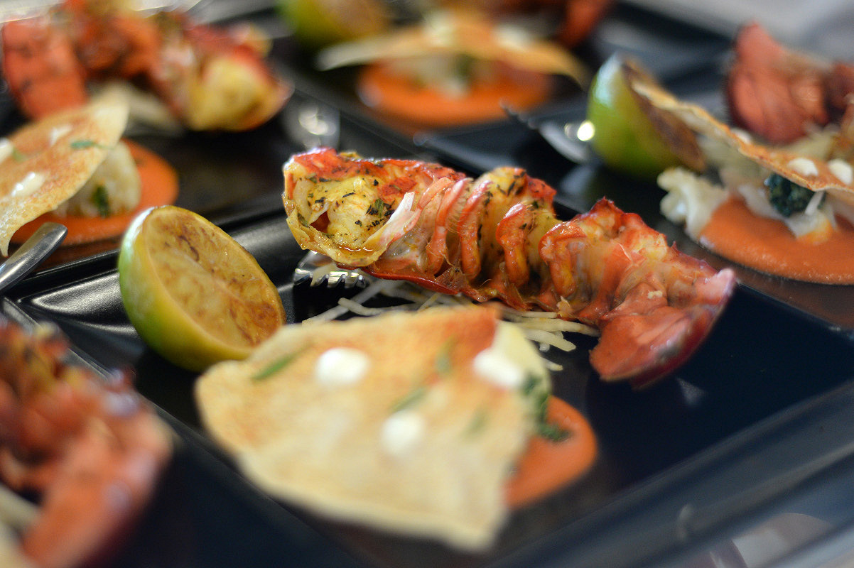 Hungary paddock club cuisine