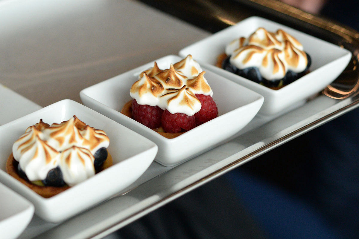 Italy aston martin red bull racing paddock club  cuisine