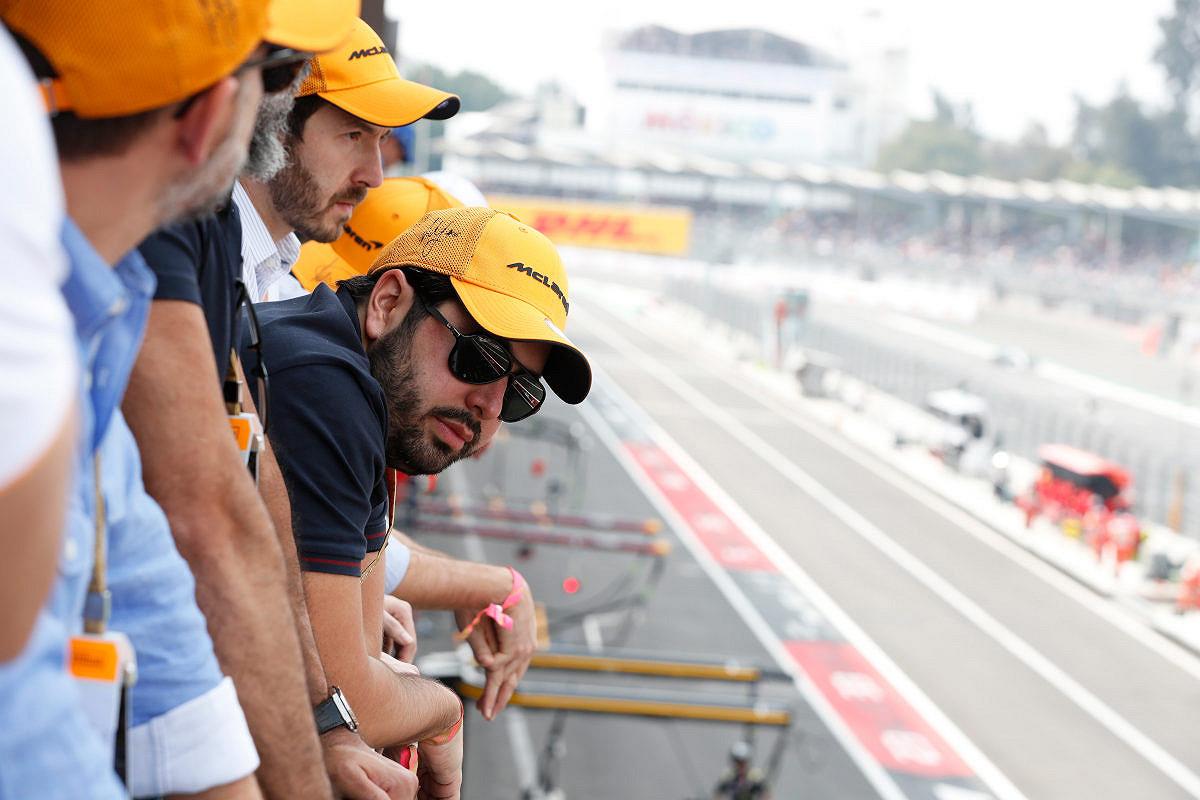 Italy mclaren f1 experience balcony view