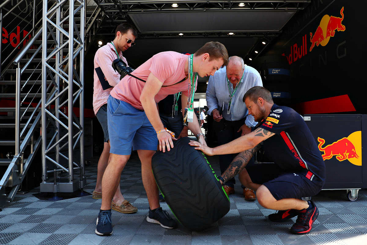 Italy red bull racing paddock club  tyre talk