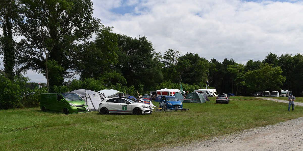 Le Mans 24 Hours Bleu Nord Campsite
