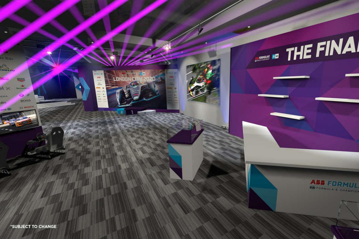 London exceleration hub adult child suite mock up