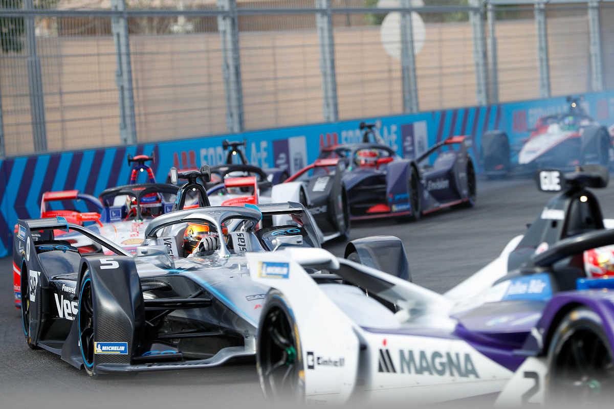 London formula e race