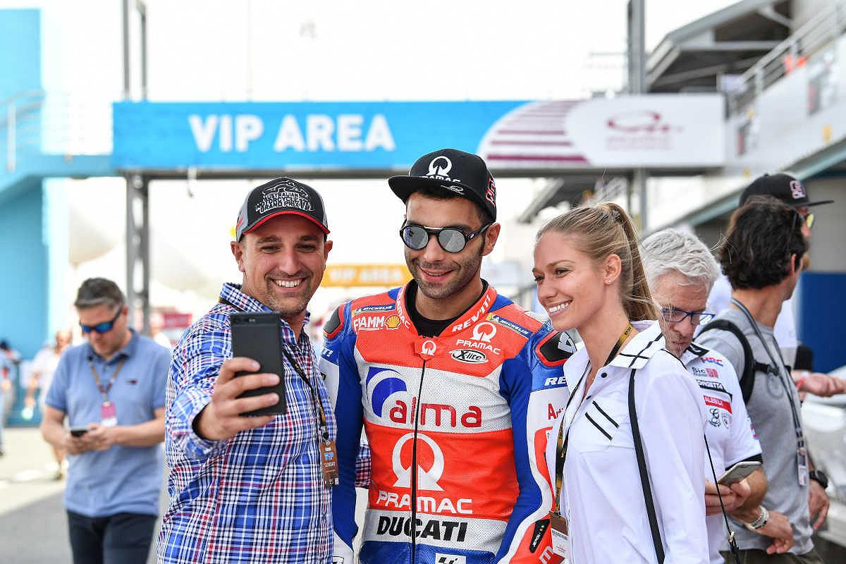 Malaysia paddock tour