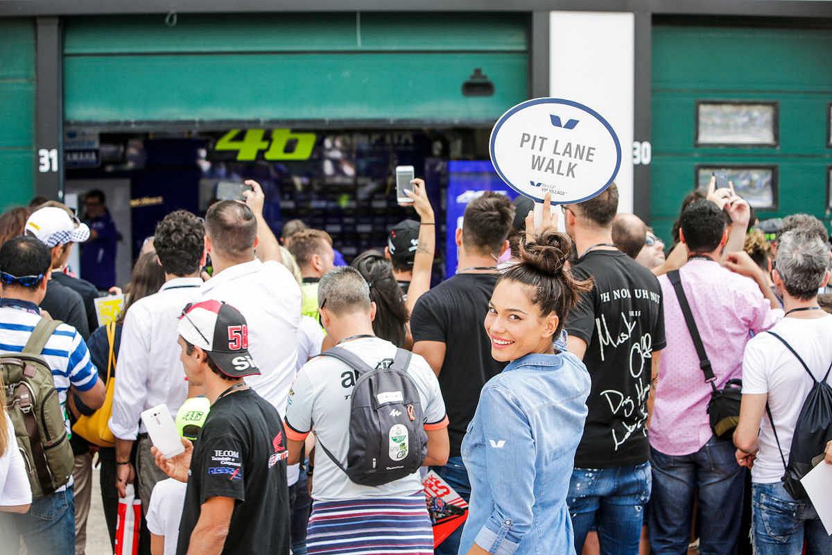 Malaysia pit lane walk