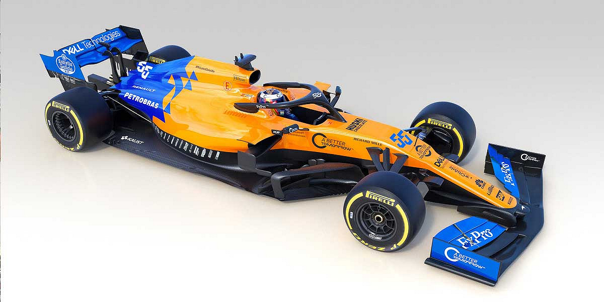 McLaren's MCL34 Revealed with New Livery