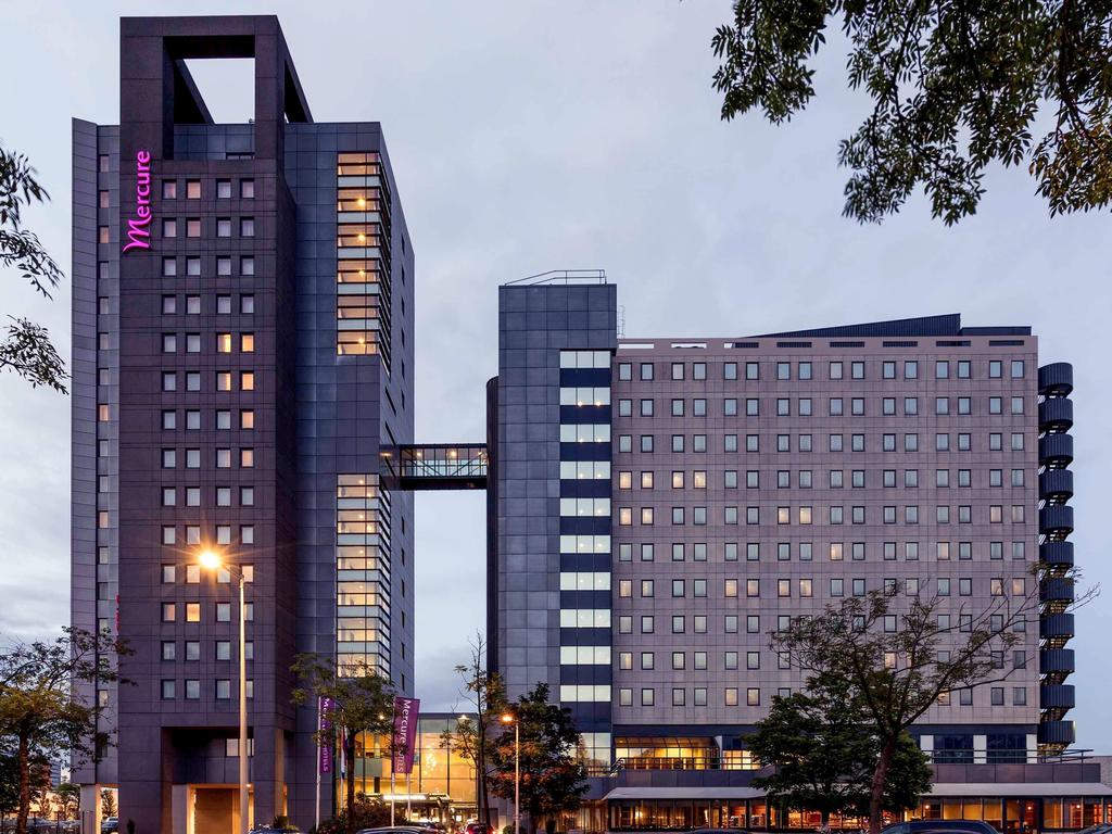 Mercure Hotel Amsterdam City with General Admission (Double Room, One Person)