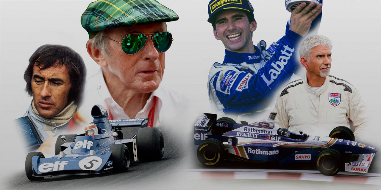 The Mindset of Champions - An Evening With Sir Jackie Stewart OBE and Damon Hill OBE