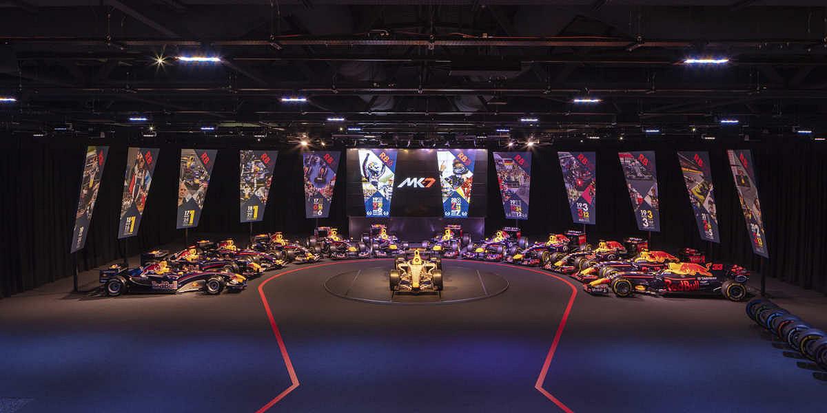Red Bull Racing Fabrieksrondleiding