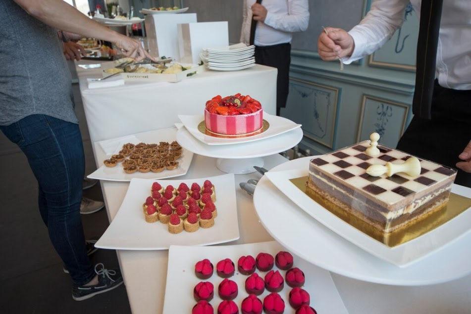Monaco club f1 gold package buffet