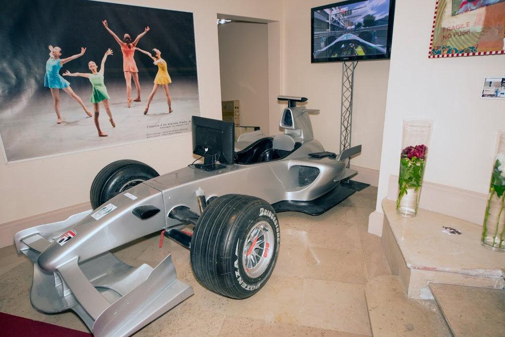 Monaco club f1 silver package simulator