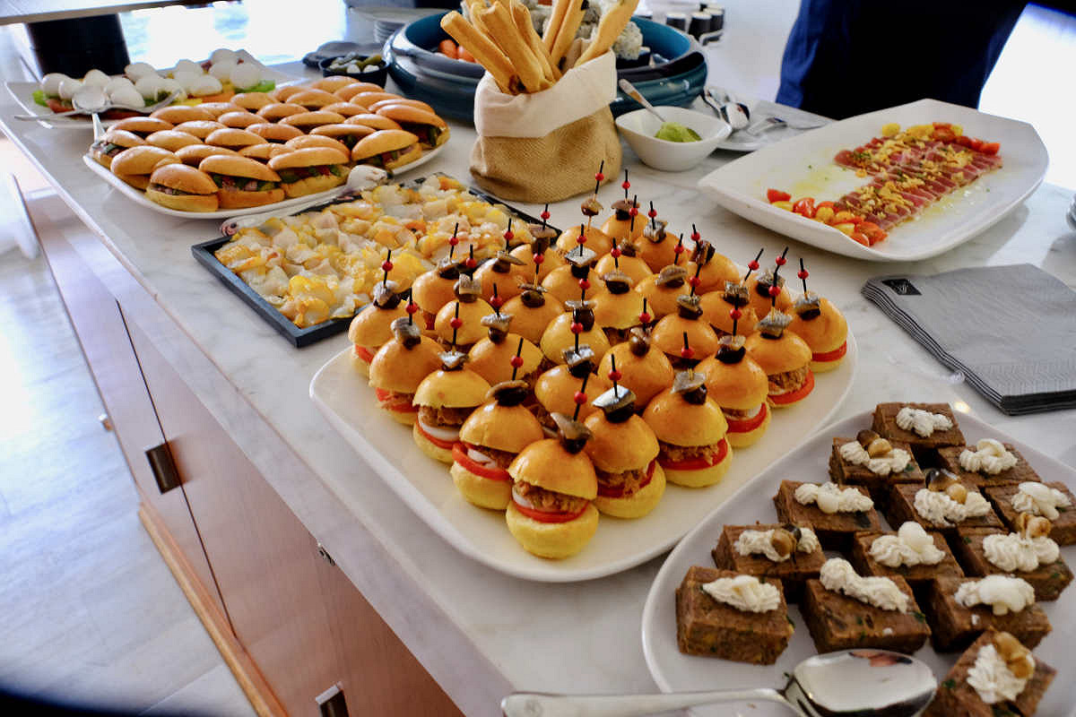 Monaco harbour club fairmont spa hospitality world class catering