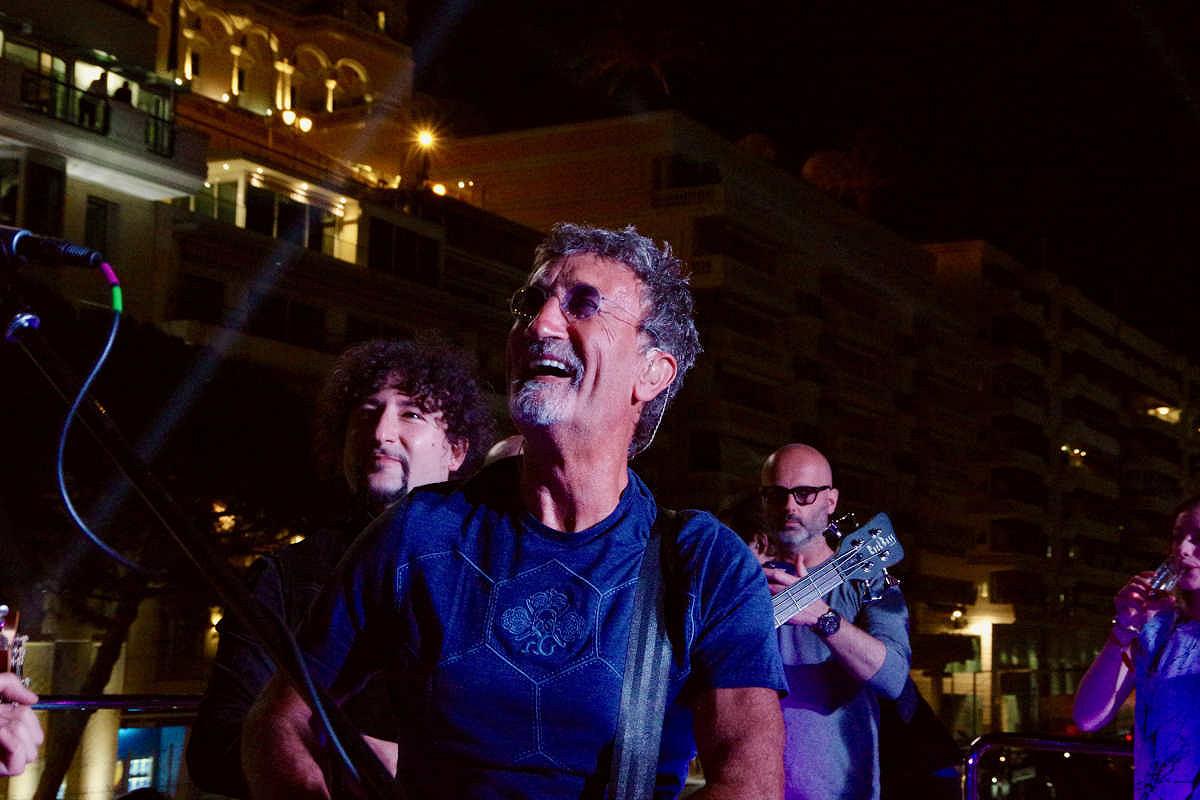 Monaco harbour club friday night yacht party eddie jordan