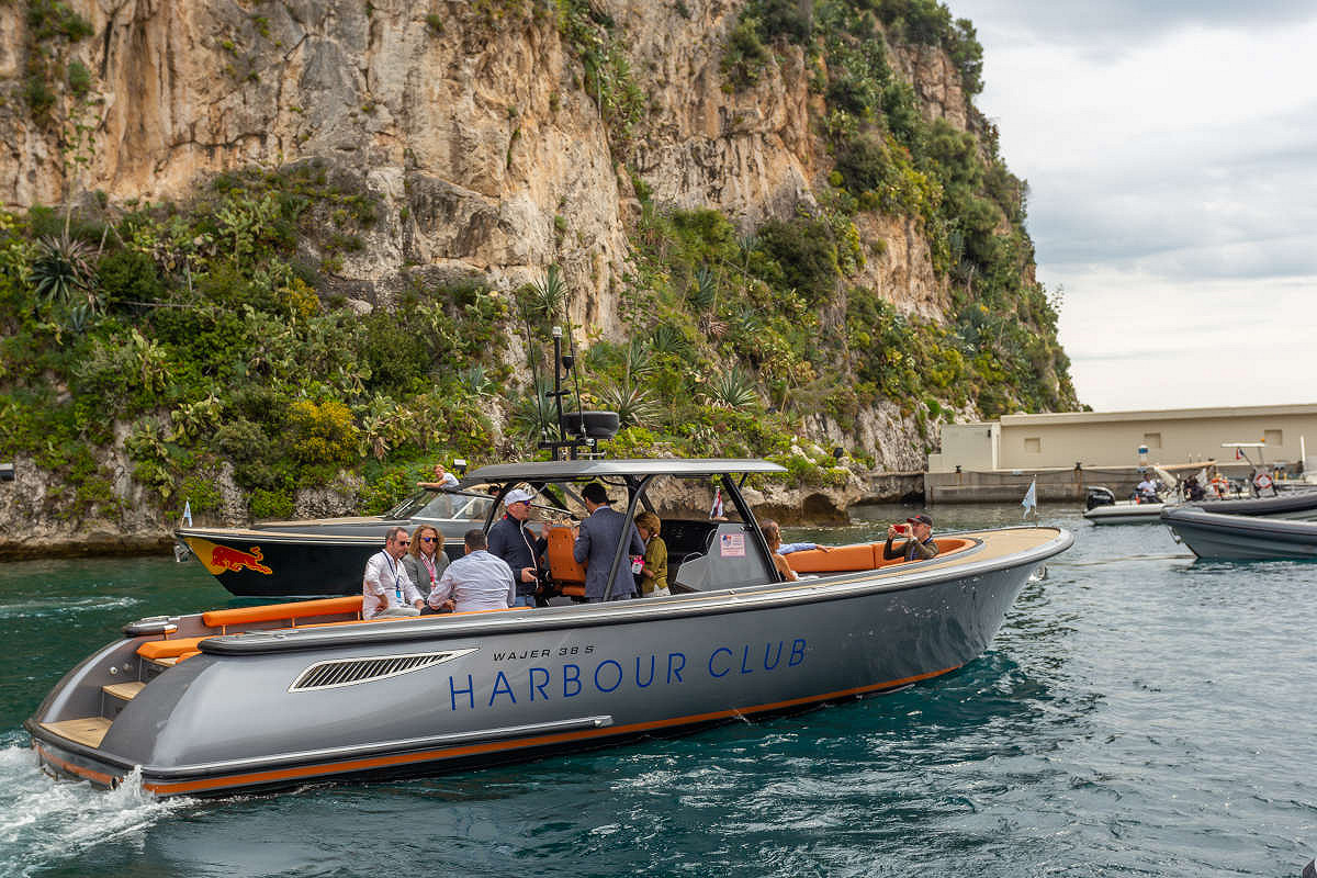 Monaco harbour club vip yacht tenders