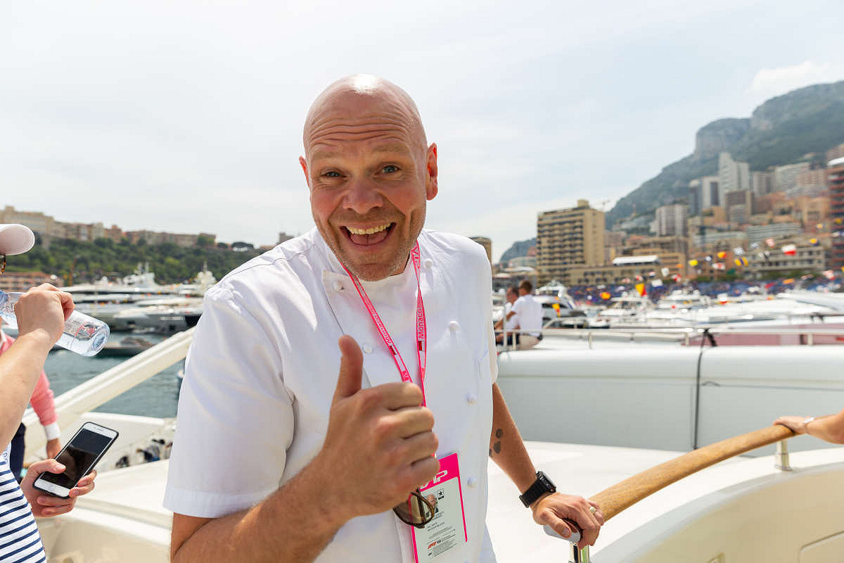 Monaco harbour club vip yacht tom kerridge