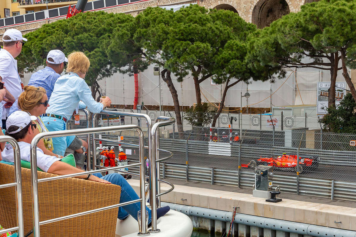 Monaco harbour club vip yacht yacht view