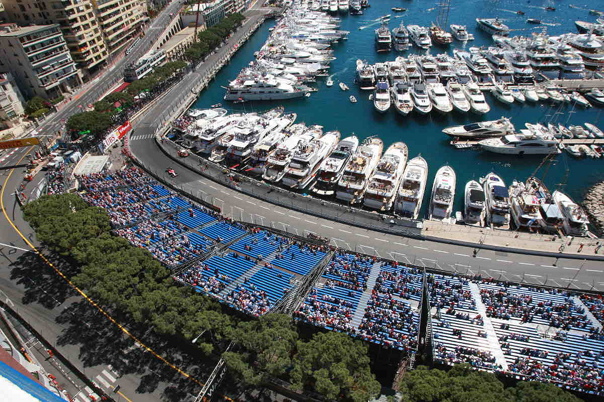 Monaco roof of the caravelles a view