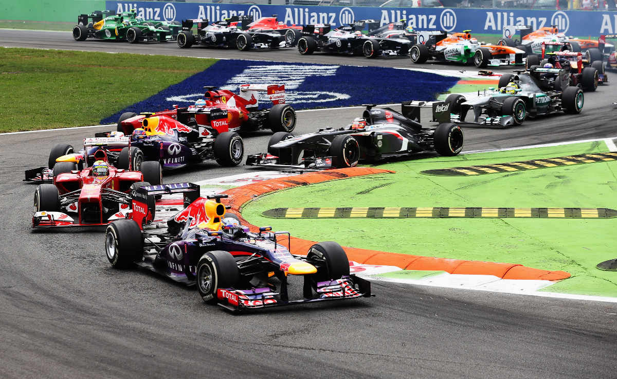Italian Formula 1 Grand Prix 2019 ENTRY TICKETS - General Admission, Grandstand, and Hospitality