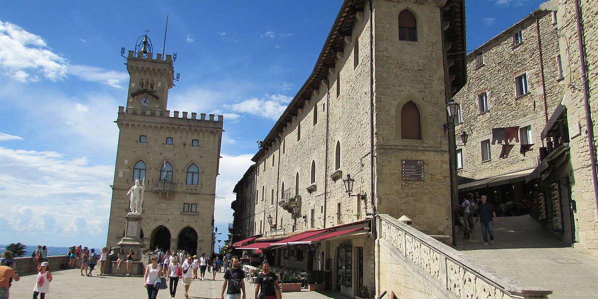 Piaza della Liberta - San Marino