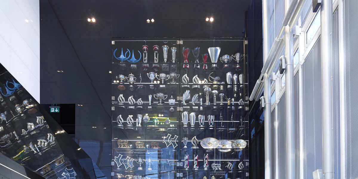Red bull racing factory trophies