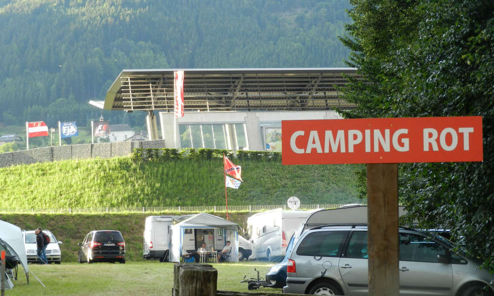 Red Bull Ring Red Campsite